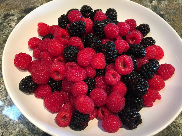 6. Fresh fruits and vegetables
