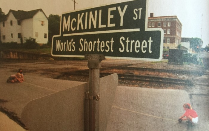 11. The World's Smallest Street (Bellefontaine)
