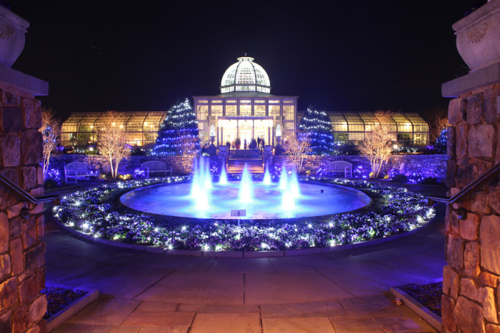 20. The Dominion GardenFest of Lights at Lewis Ginter Botanical Gardens in Richmond.
