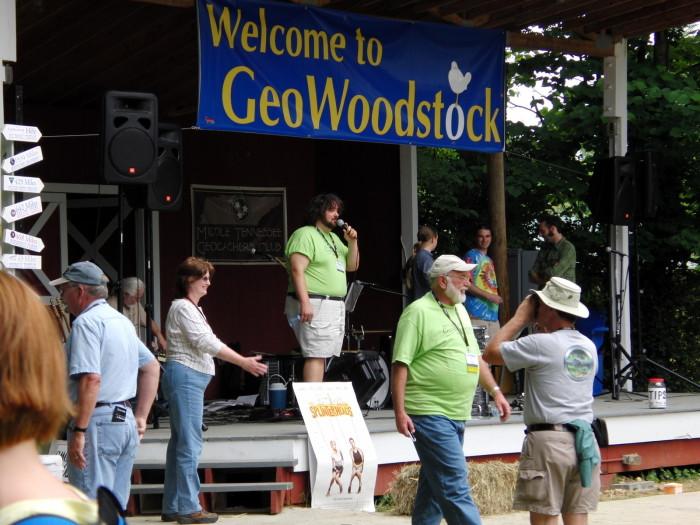 4) GeoWoodstock was held in Bell Buckle in 2009
