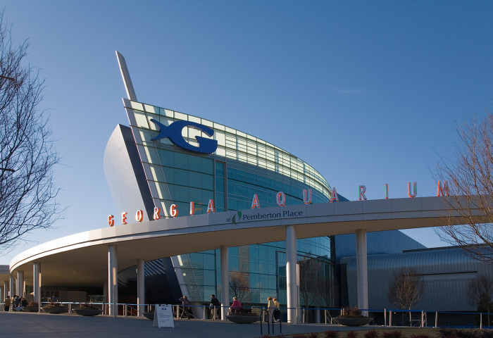 5. We are home to the world's largest aquarium.