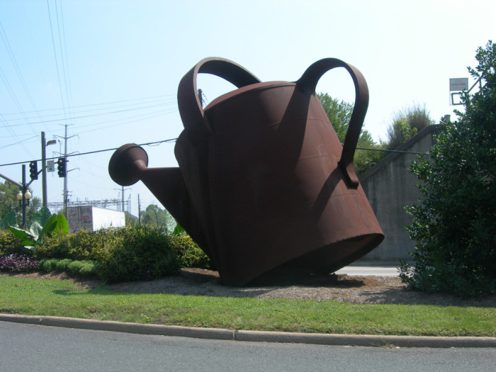 11. Giant Watering Can and Flower Pots, Staunton