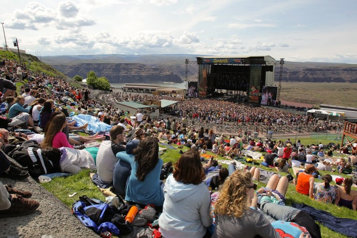 5. See an epic show at the Gorge.