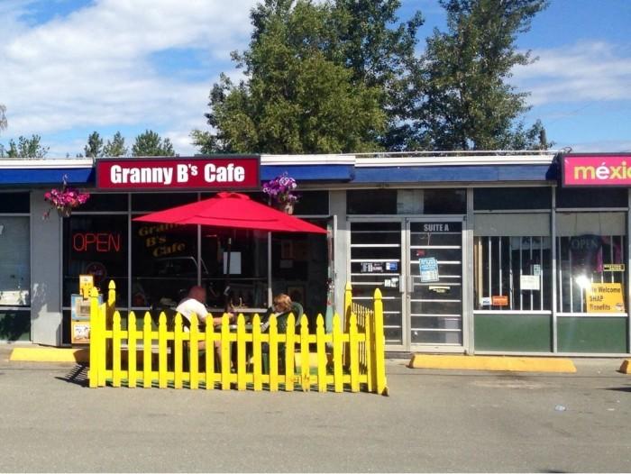8) Granny B's, Anchorage.