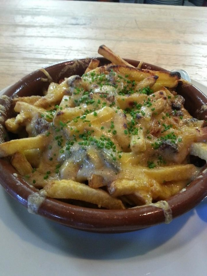 Green Pig Bistro fries