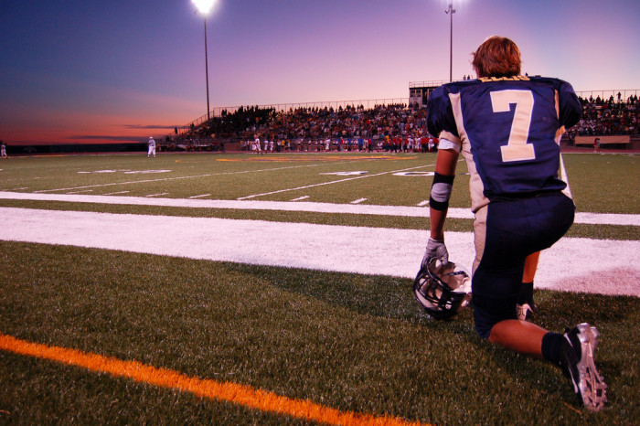4. Friday Night Lights was your reality every Friday during football season.