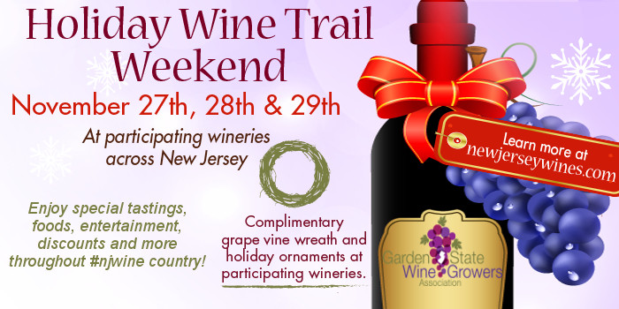 2. Travel the holiday wine trail.