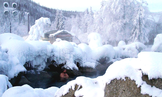 4) Shelokum Hot Springs, Cleveland Peninsula.