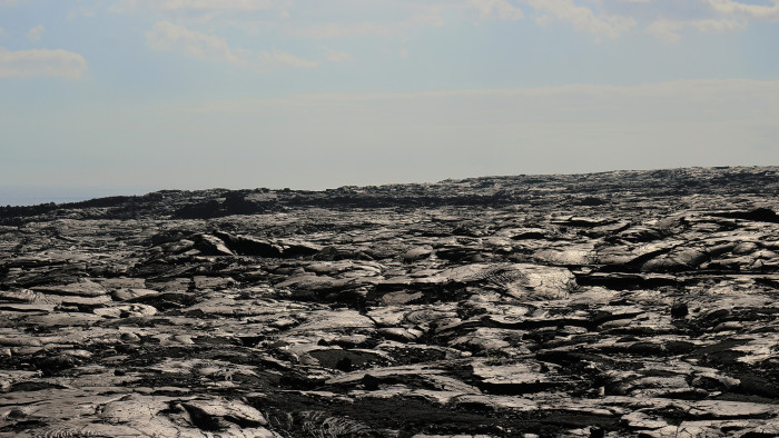 2) Within Hawaii Volcanoes National Park is the Mauna Ulu Lava Flow, a place that will instantly transport you to another world.