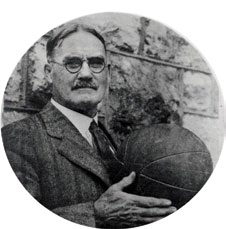 7. The only head coach in University of Kansas basketball history with a losing career record is James Naismith.