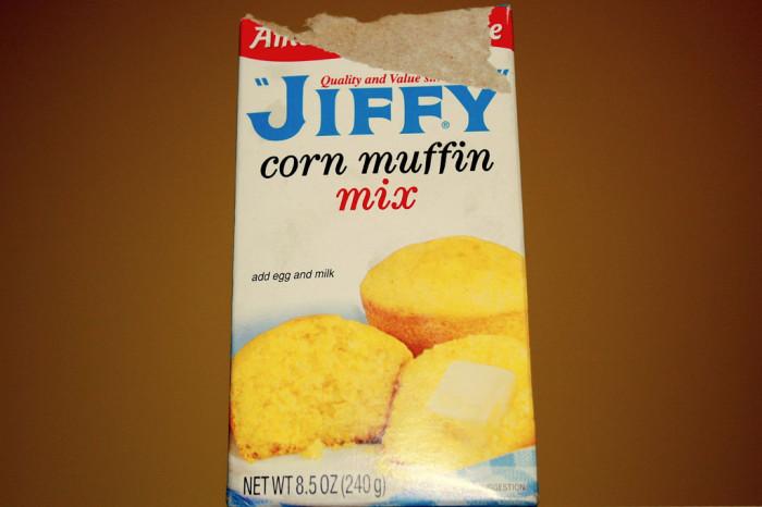 6) Jiffy Mix