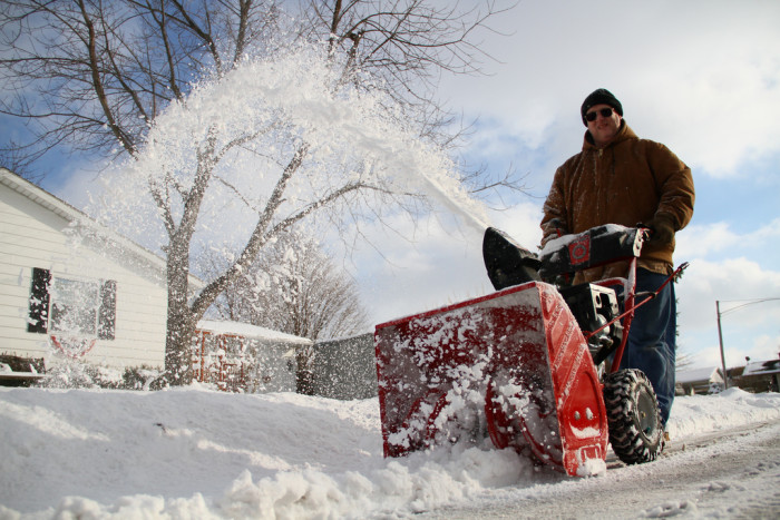 10. You have more miles on your snow blower than your car.