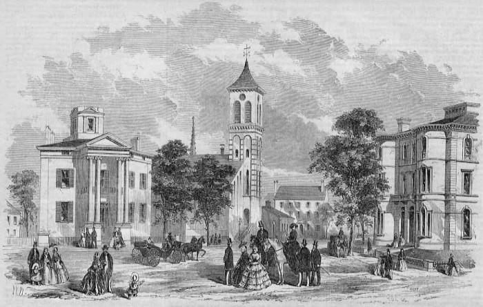 9. Downtown Portland (1857)