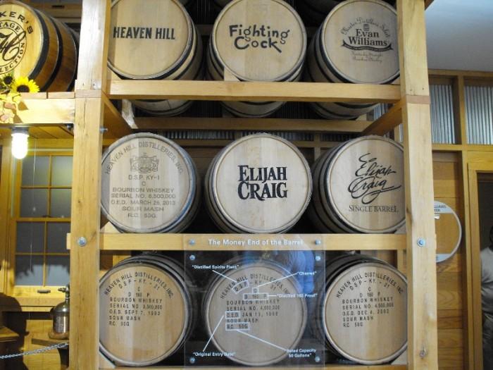 9. Kentucky Bourbon selection and availability.