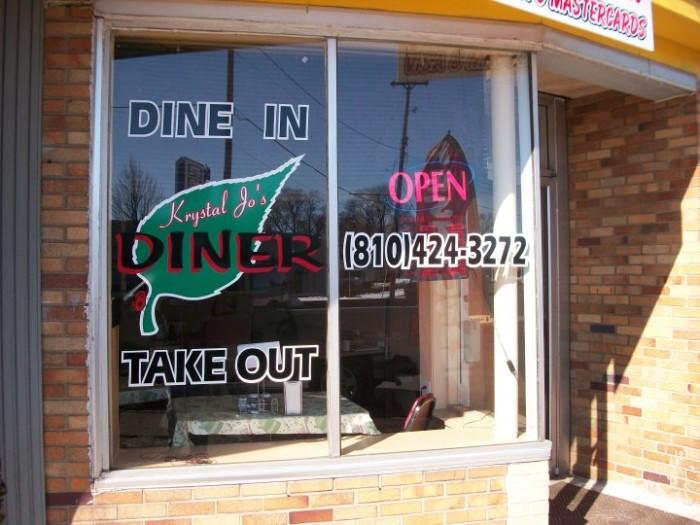 4) Krystal Jo's Diner, Flint