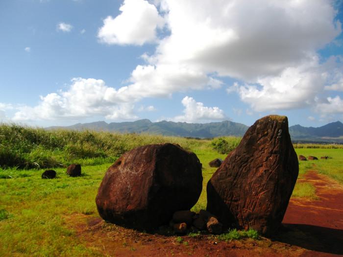 1) Kukaniloko Birthing Stones