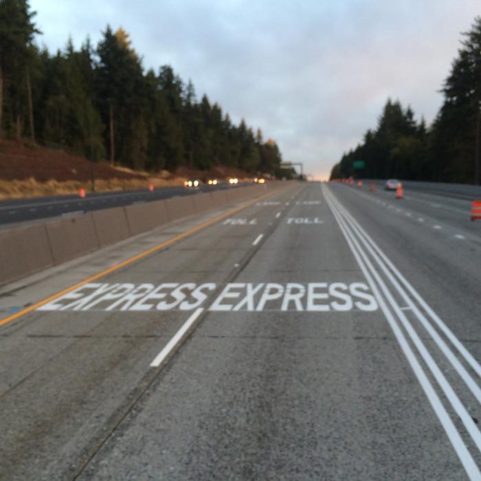 3) Lane markings