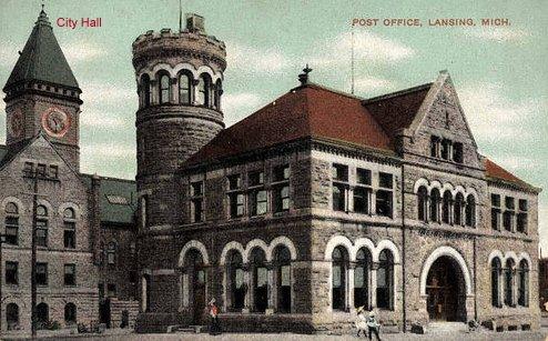 8) Lansing City Hall, 1915.