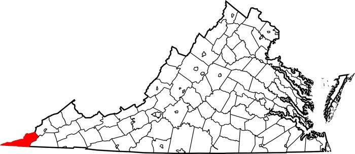 15. Lee County is physically closer to eight state capitals other than its own capital in Richmond.