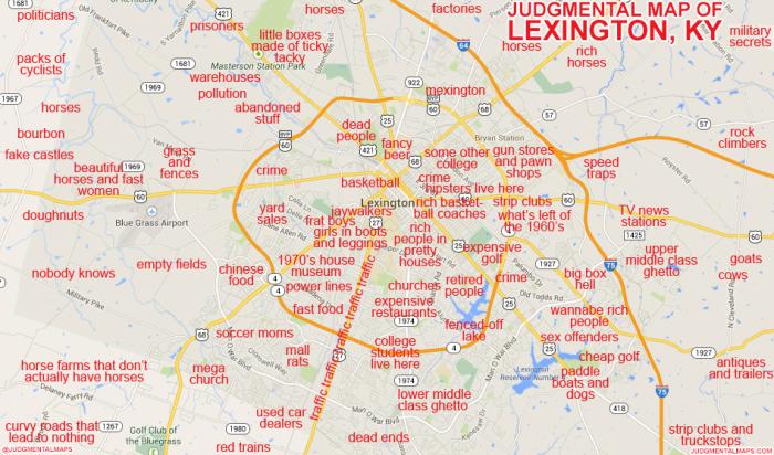 8. Lexington via Judgmental Maps.