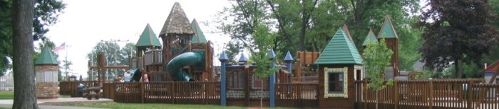3. The Little Paws Playground in Stauffer Park is just waiting for your little ones to enjoy it!