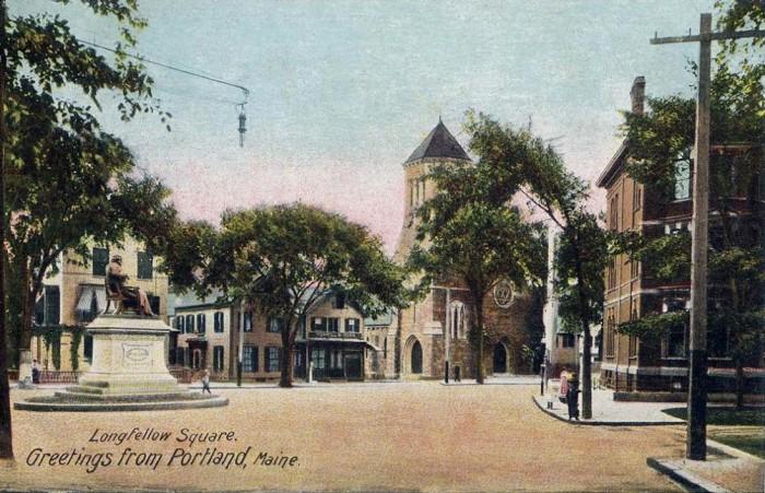 16. Longfellow Square in Portland (1906)