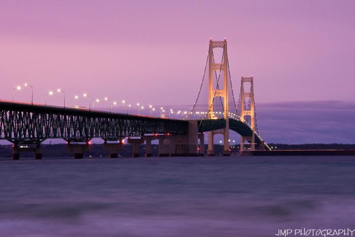 5) Mackinac Bridge