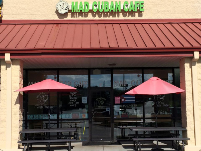 5. The Mad Cuban Cafe in Simpsonville