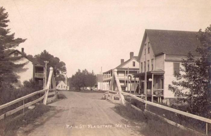 6. Main Street in ghost town, Flagstaff (1915)