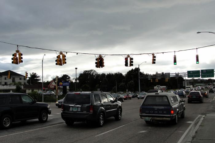 1.  Traffic.