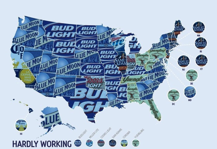 14. Most preferred beer?