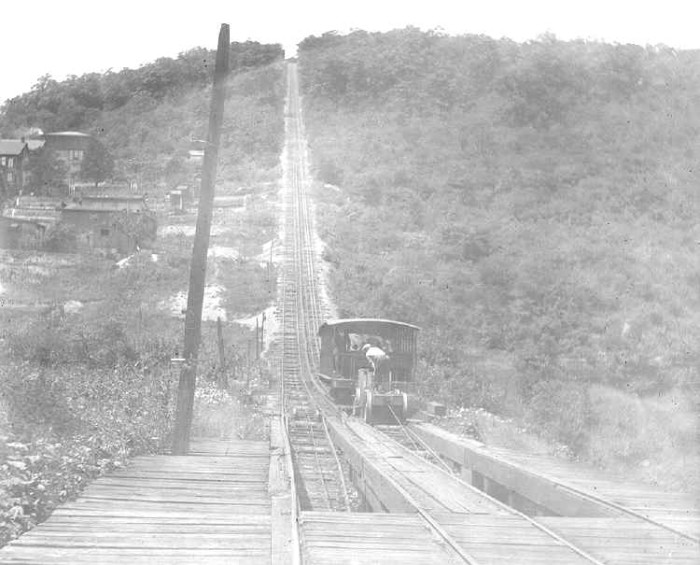 10. The first roller coaster in the country was the Mauch Chunk Gravity Railroad.