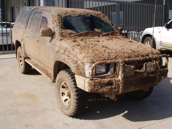 """5. """"Why is your car always so muddy?"""""""