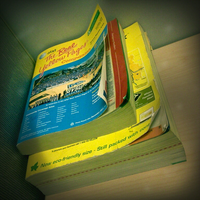 8. Used Phone Books (and Made Prank Calls)