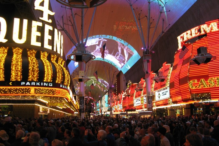15. Fremont Street Experience