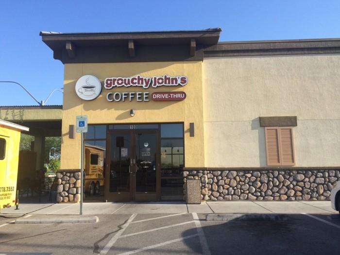 2. Grouchy John's Coffee - Las Vegas, NV