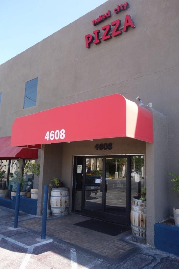 4. Naked City Pizza Shop - Las Vegas, NV