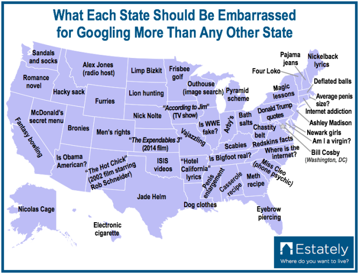 Hilarious Stereotypical Nevada Maps - Nevada on us map