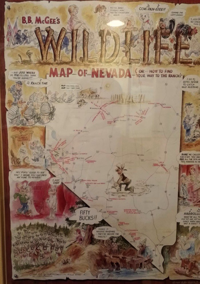 Houston Judgemental Map%0A Interesting Wildlife Map of Nevada