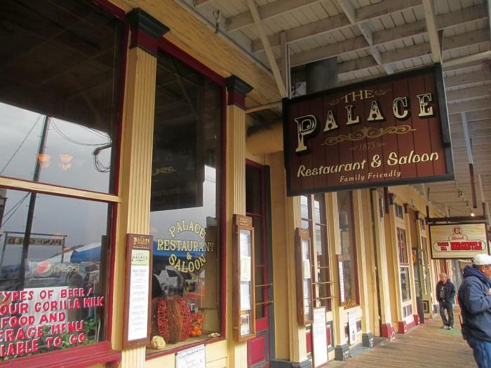 12. The Palace Saloon & Restaurant - Virginia City, NV