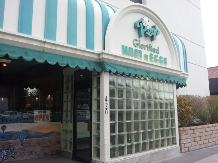 8. Peg's Glorified Ham N Eggs - Reno, NV