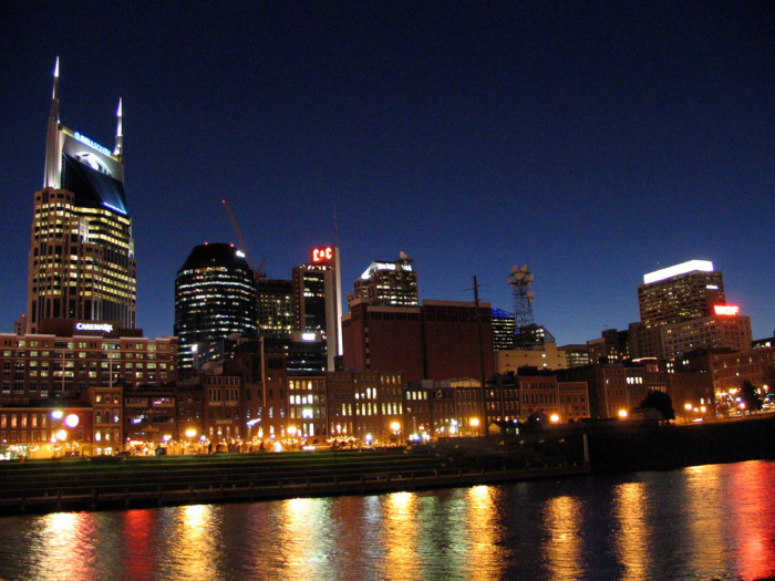 11. Nashville made the list of top fifteen cities in the nation!