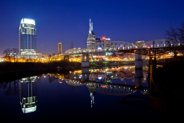 6) Can't have Tennessee without the lovely city of Nashville