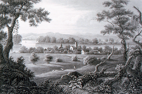 4. Here is what New Harmony, Indiana looked like in 1832.