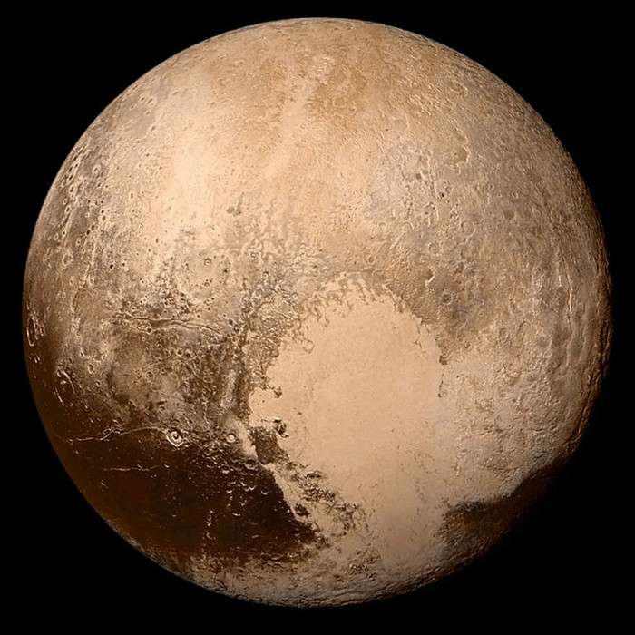 P is for Pluto.