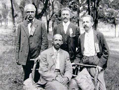 6. Here's a shot from the same 1906 conference of some male Niagara Movement leaders.
