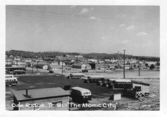 "1) Oak Ridge was known as both ""The Atomic City"" and ""The Secret City."""