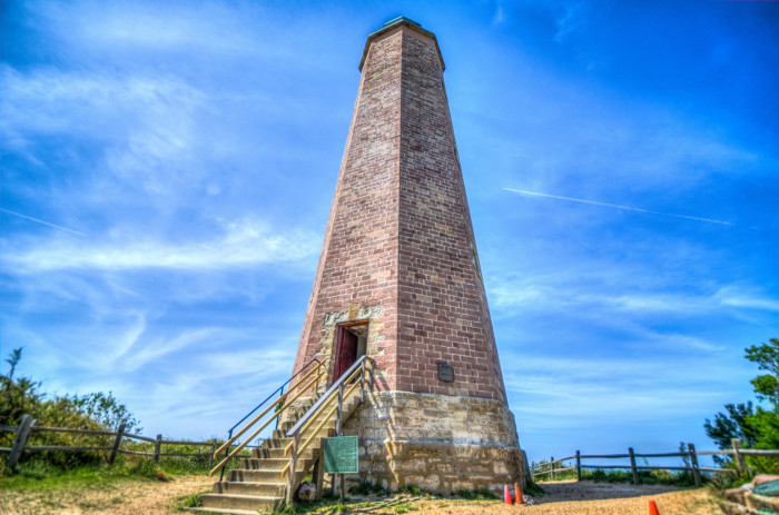 14. Old Cape Henry Lighthouse at Fort Story in Virginia Beach
