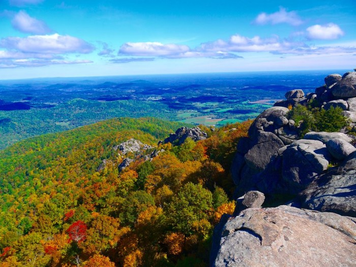 "8. This is the kind of picture that makes me think, ""Why live anywhere else?"" Brian Sullivan submitted this image from the top of Old Rag."