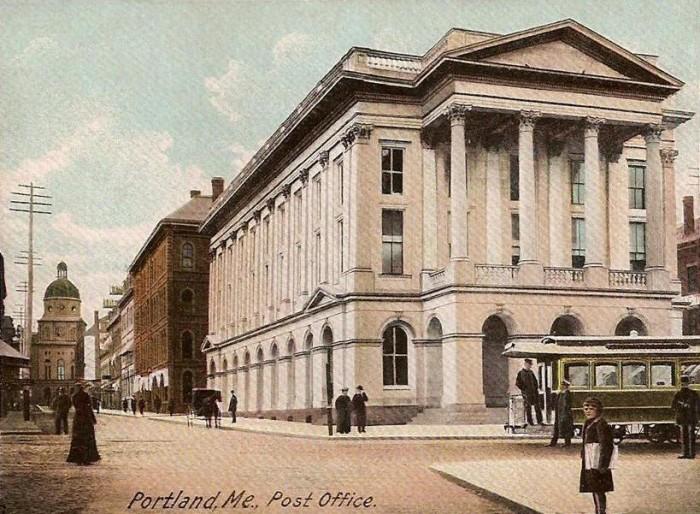 15. Post Office in Portland (circa 1905)